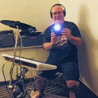 elliott crawford,3 humans,drummer