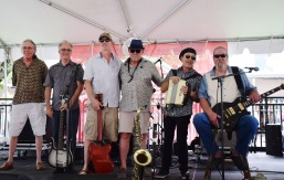 Big Daddy O and Uneven Ground at The Creole Tomato Festival New Orleans LA 2018